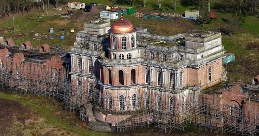 The secret of Hamilton Palace, the abandoned mansion, worth 55 million dollars