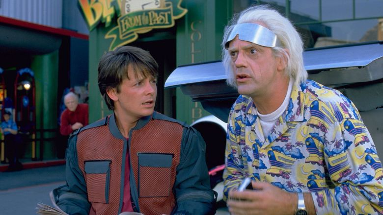 Back to the future most viewed movies