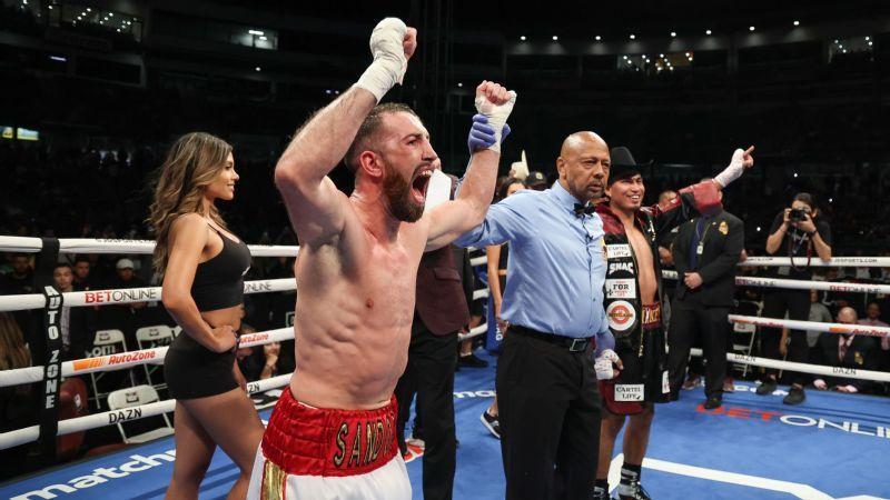 Mickey Garcia surprised, and lost to Spaniard Sandor Martin by majority decision