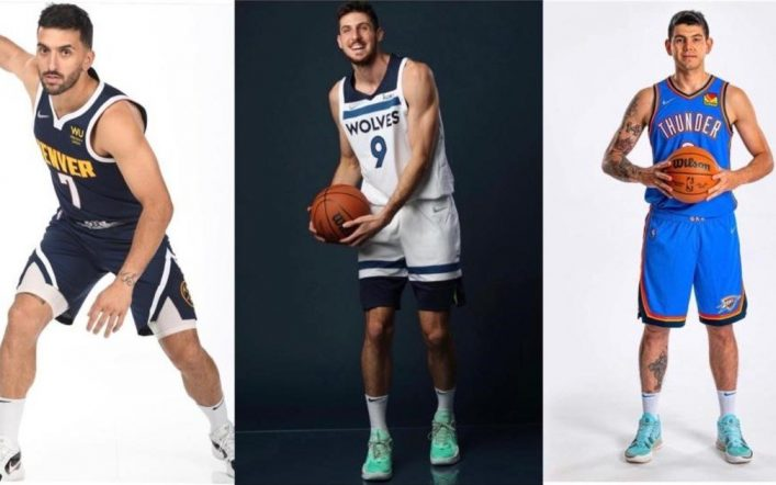 When will the Argentines debut in the NBA?
