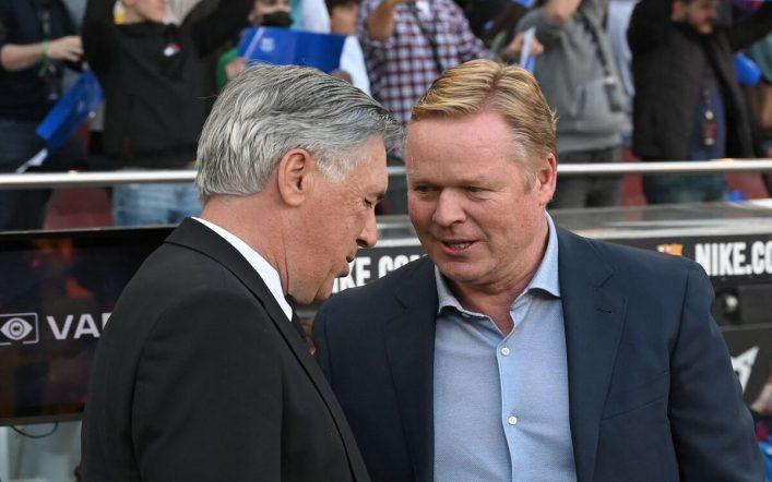 Ancelotti talks about sacking Koeman