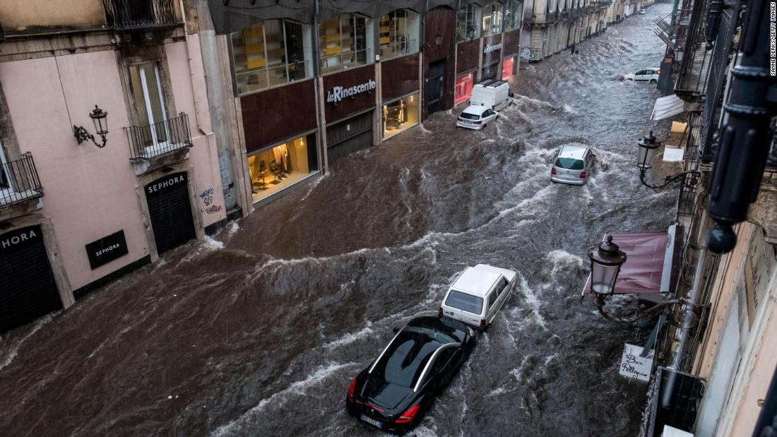 """A """"medical"""" storm engulfs southern Italy"""