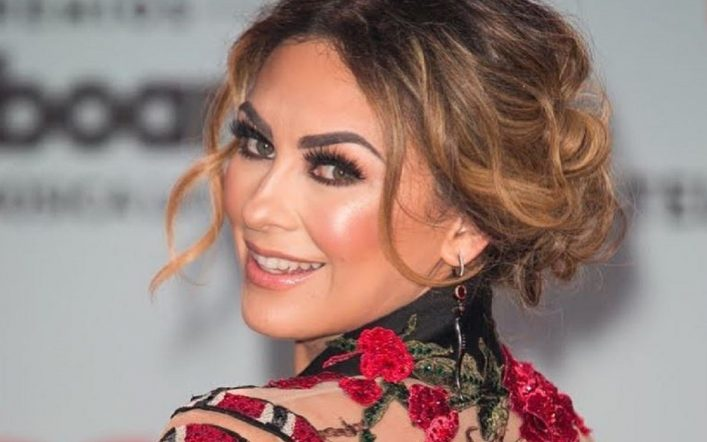"""Aracely Arámbula """"Yes, there was a hand"""" reveals who opened her car"""