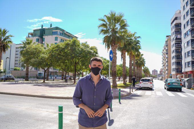 Castelló gains more pedestrian space on Blasco Ibáñez Boulevard and works to calm the environment