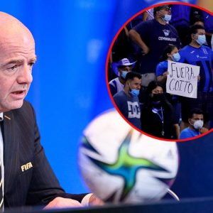 FIFA President Gianni Infondino