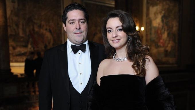 Heredero on the Russian throne marries Italian Rebecca Petarini