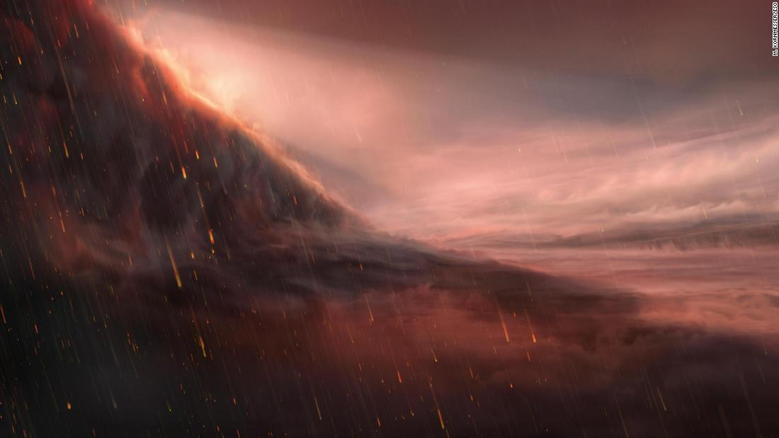 Iron rain planet is more intense than scientists thought