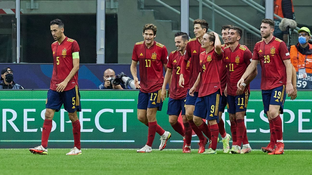 Italy vs.  Spain – Competition Report – October 6, 2021