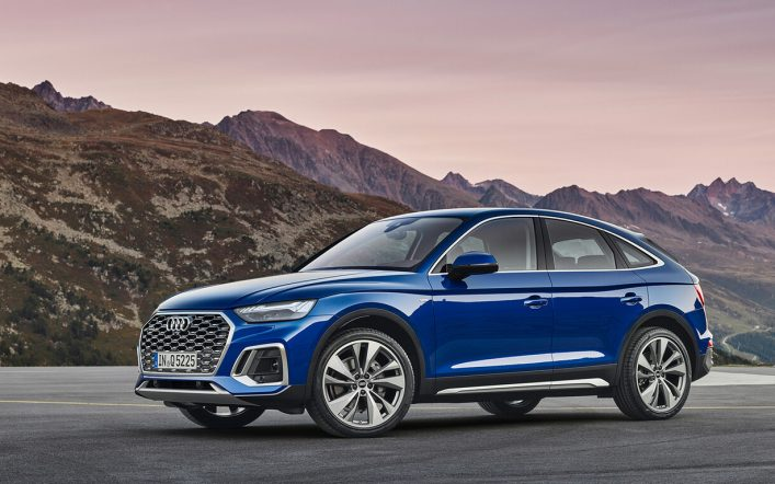 It's official!  The new Audi Q5 Sportback is now available in Guatemala