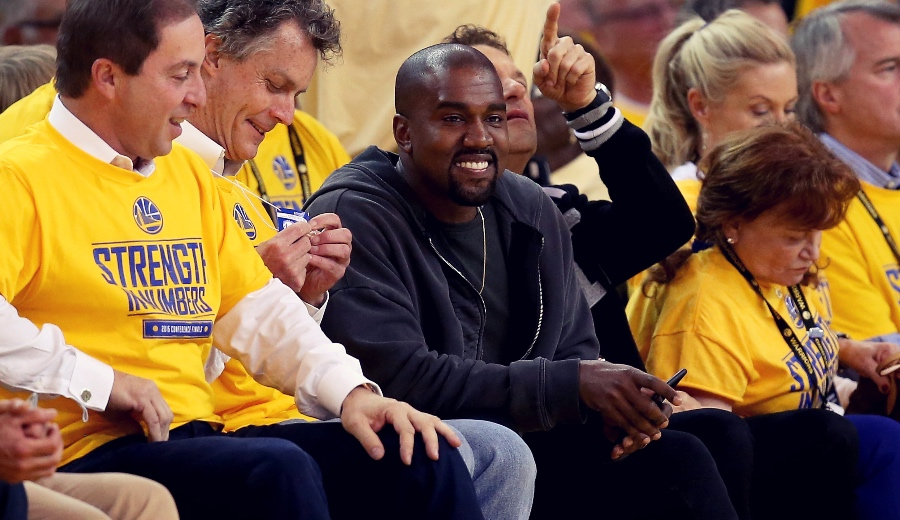 Kanye West plays basketball!  This will be your academy in the United States