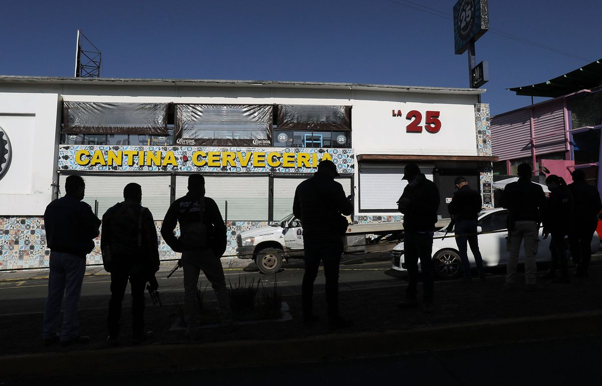 La Cantina 25: The 50-second attack kills six in Morelia