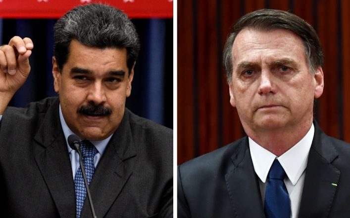 Maduro calls Bolsonaro an 'idiot' for his comments on vaccines