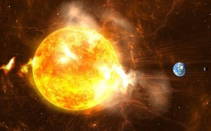 NASA has warned that a powerful solar storm could hit Earth