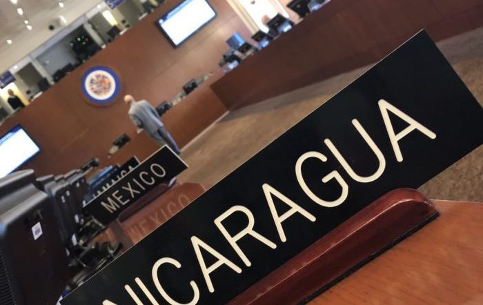 OAS approves, with 26 votes in favor, resolution calling on the Ortega regime to find an immediate solution to the crisis in Nicaragua