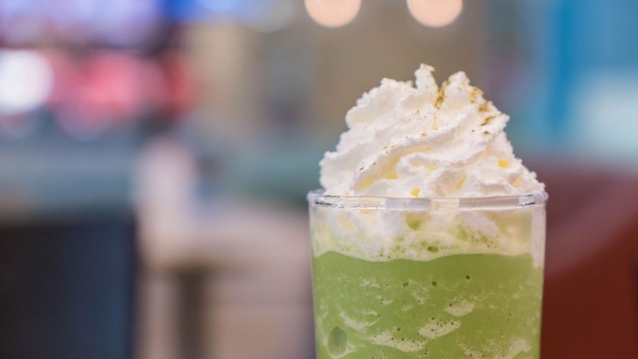 Recipe for a matcha frappe, refresh with this healthy drink