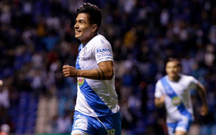 Summary of the match Puebla vs Mazatlan (2-0).  Objectives