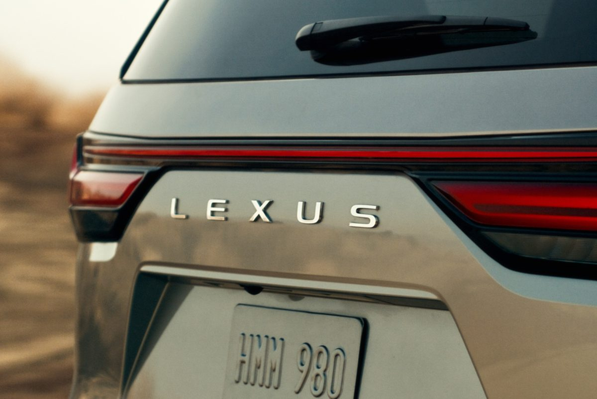 The Lexus LX 2022 will debut on October 13