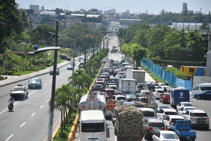 The closure of the Francisco Penado Bridge is causing a blockage and dissatisfaction with drivers again