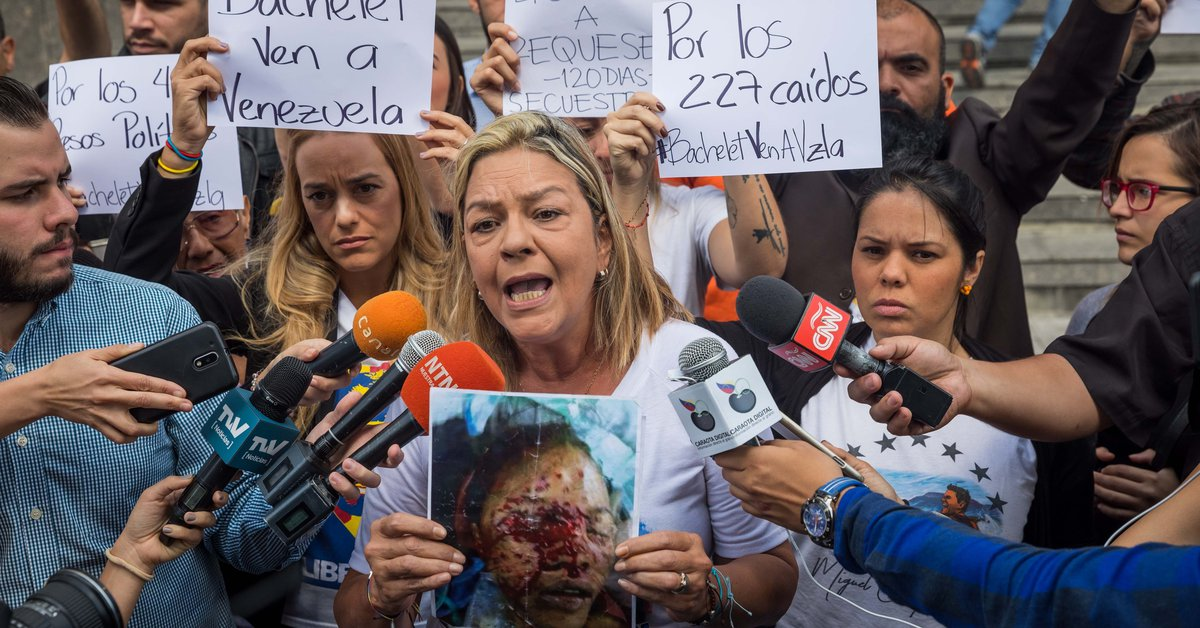 They called on the International Criminal Court to administer justice for the alleged crimes against humanity committed in Venezuela