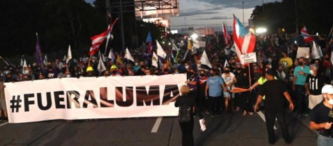 Thousands march in Luma and on the island against the power system