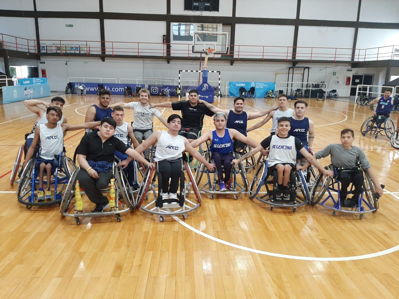 U21 wheelchair basketball in CeNARD